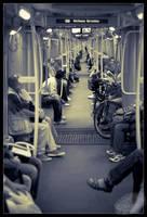 Metro Catwalk by ArcAngelTyrael