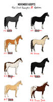 Points Adopts | Horses - RDR2 Edition [2/8] OPEN by PoisonSoldat