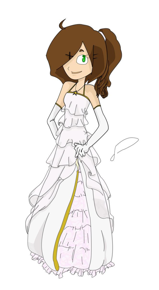 Prom Dress Cartoon Cartoon Prom