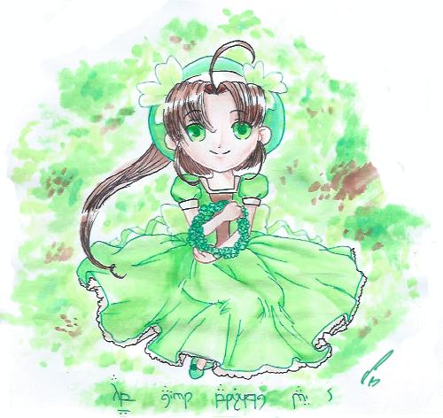 Little Clover Girl  :  by ARSugarPie on DeviantArt