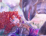 Merida meets Toothless