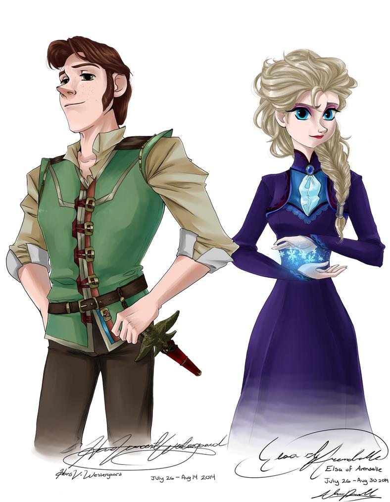 Elsa jean shiny