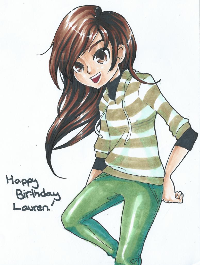 Lauren's B-Day Present by ARSugarPie