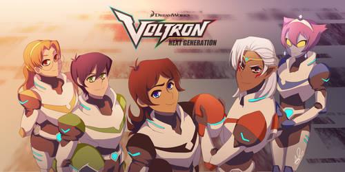 Voltron Next Gen. by ARSugarPie