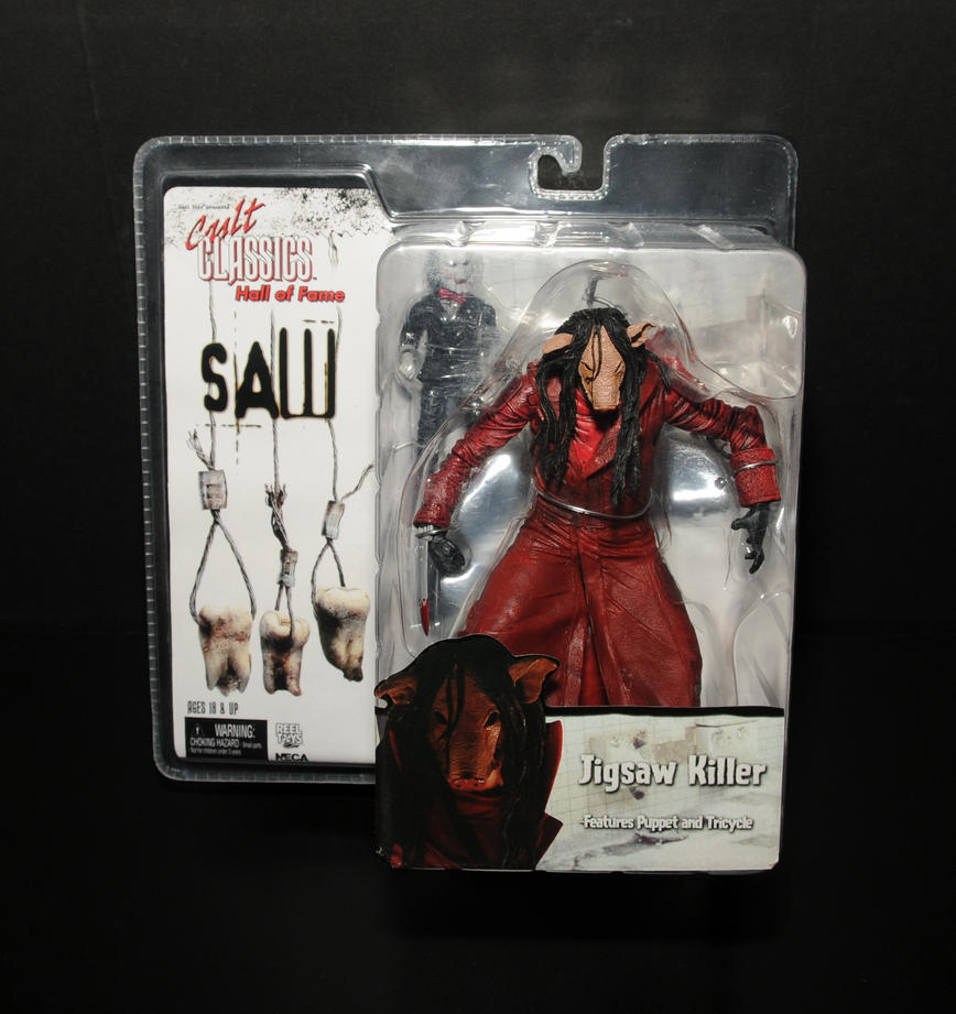 Saw Jigsaw Killer Action Figure By TheAmiableAmasser On