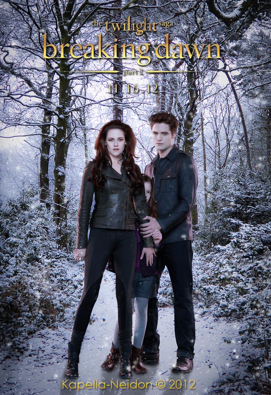 Breaking Dawn Part 2 Fan Poster By YlianaKapella Neidon