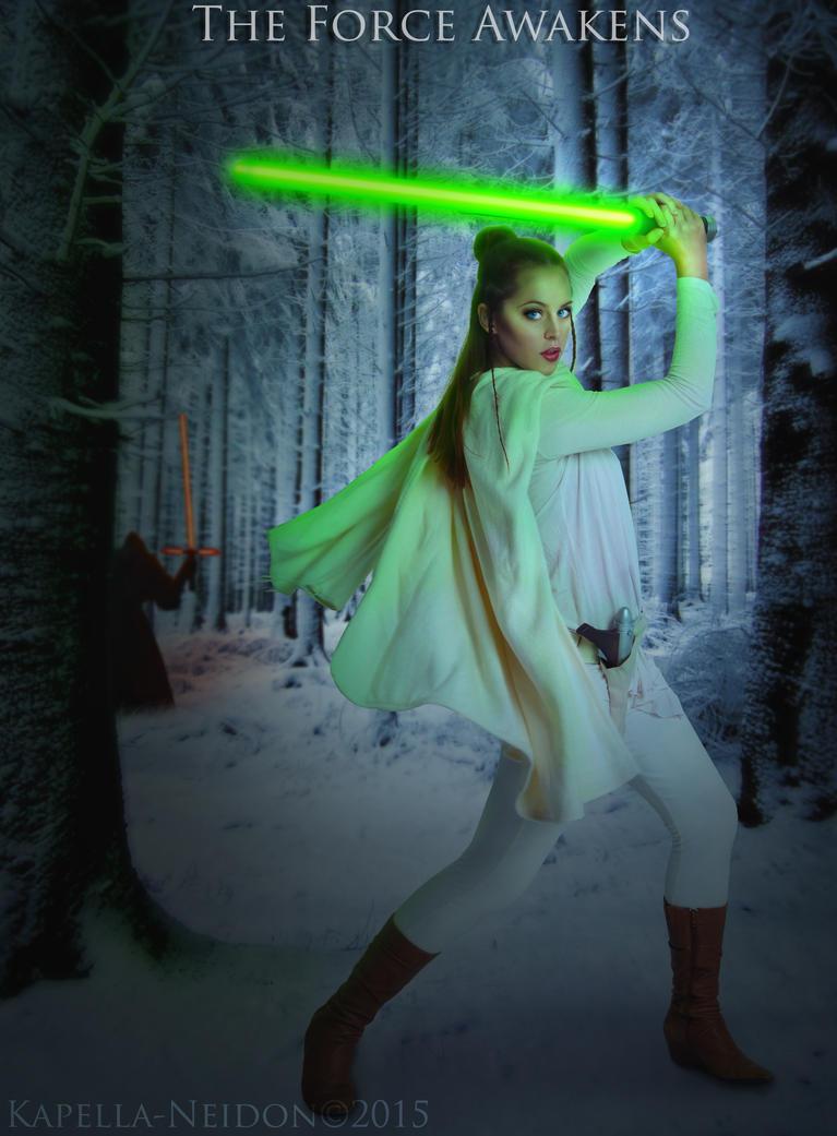 Starwars Episode VII - The Force Awakens by YlianaKapella-Neidon
