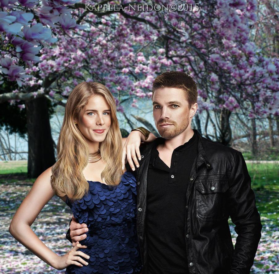 Oliver and Felicity by YlianaKapella-Neidon