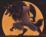 Full moon by CowboySprinkles