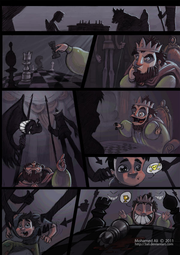 Checkmate Pg01 by 3Ali