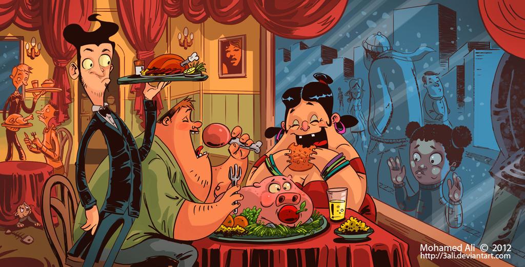 Gluttony by 3Ali