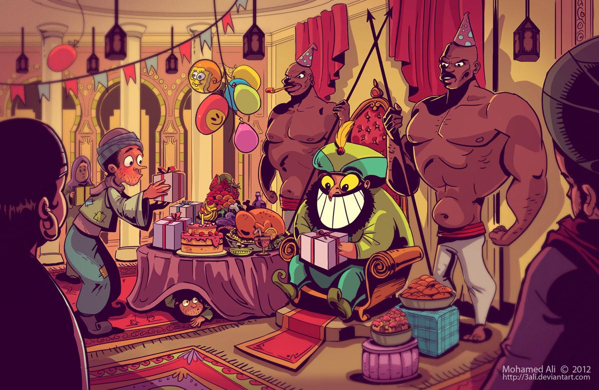 His majesty's birthday by 3Ali