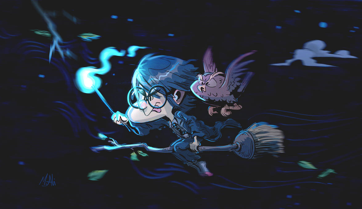 HarryPotter by 3Ali