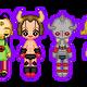 small kinnikuman dolls by jennyrogue