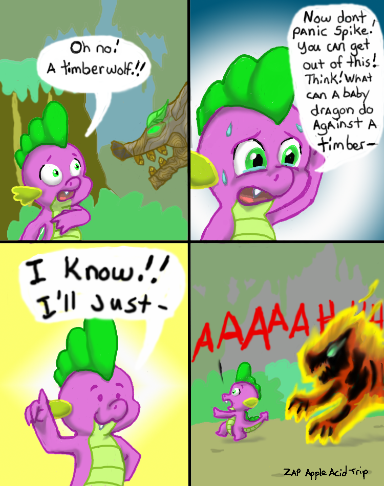 Spike has a great idea. by Zap-Apple-Acid-Trip