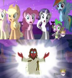 Zoidberg is best pony. by Zap-Apple-Acid-Trip
