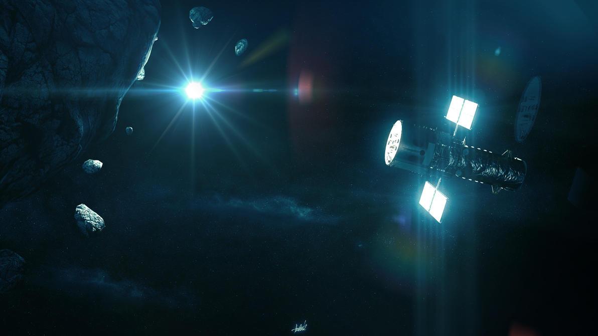Lost Hubble by KaaIYJo