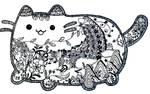 Cute Pusheen Cat