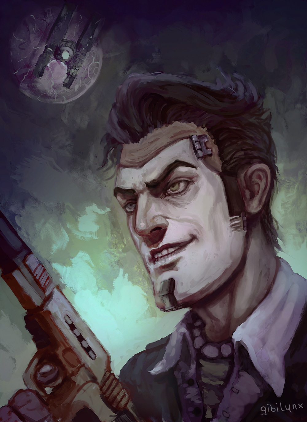 Handsome Jack By Gibilynx On Deviantart