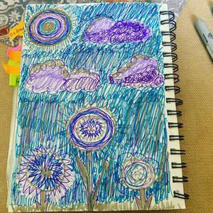 Random doodle page-