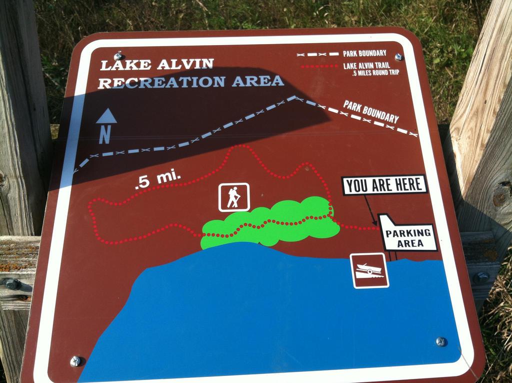 Hiking Trail Map by JMShearer