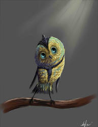 Quick drawing. by Night-Owl-23