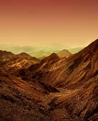 Sinai Desert by Sortvind