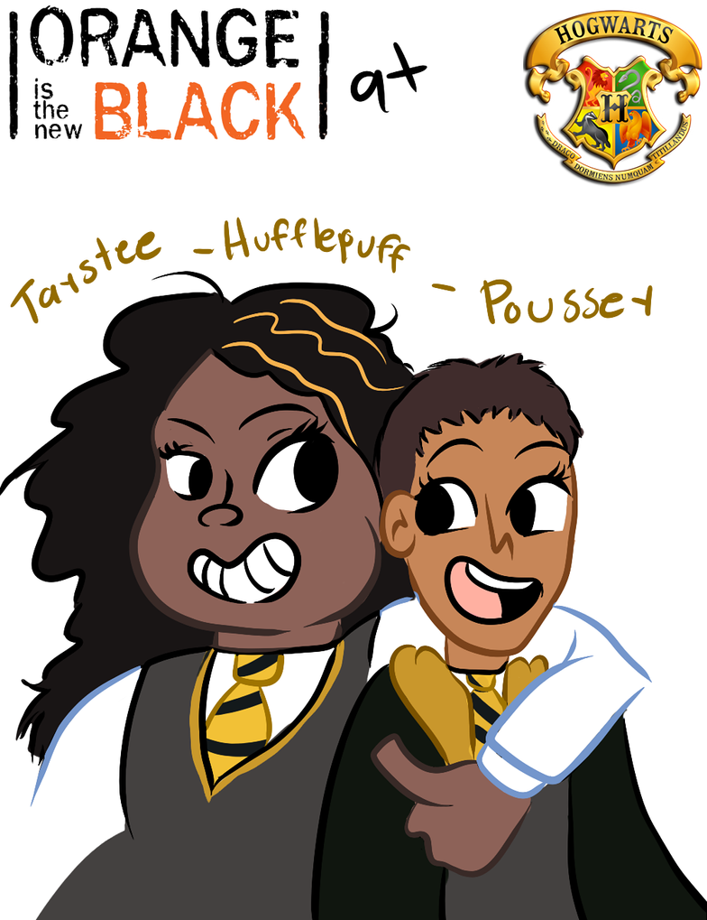 Hogwarts is the New Black-Hufflefriends by SirGalahadBW