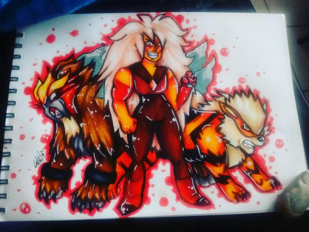 Homeworld gem Jasper wants to fight! by SirGalahadBW
