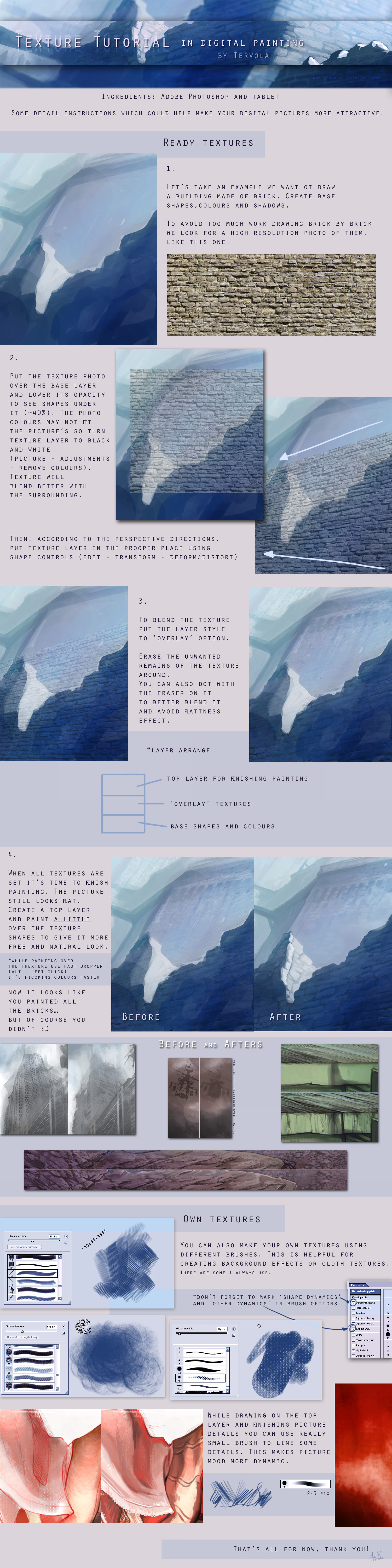 Texture tutorial by Tervola