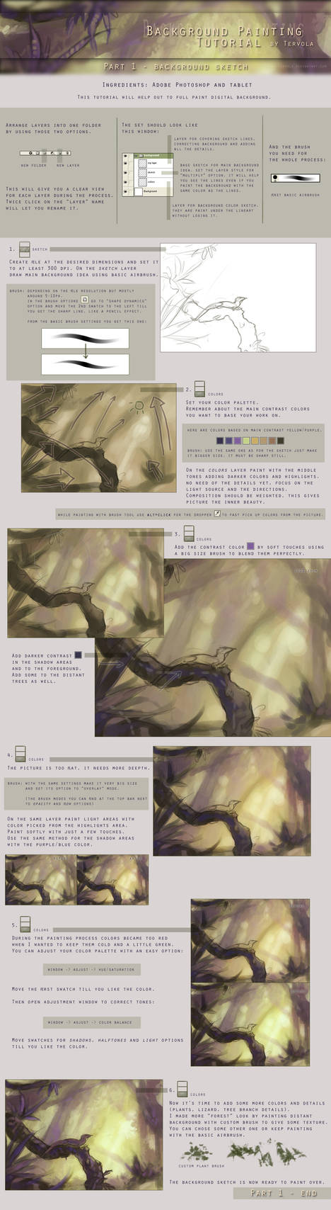 Background Tutorial 1 by Tervola