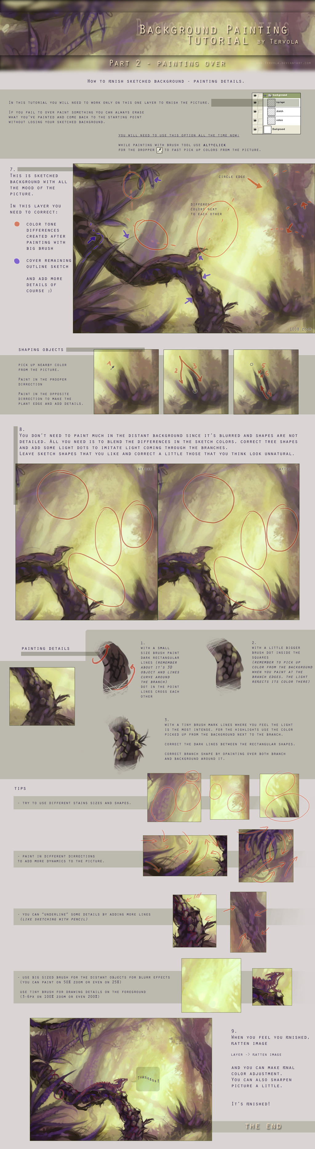 Background Tutorial 2 by Tervola on DeviantArt