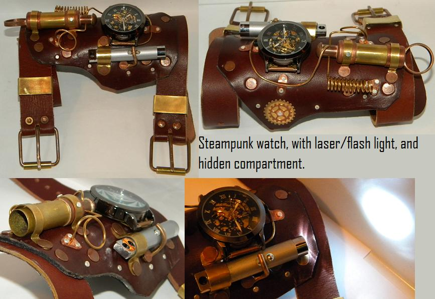 Steampunk watch by gokusonwing0