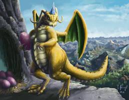 Pokemon - Dragonite by SimonGangl