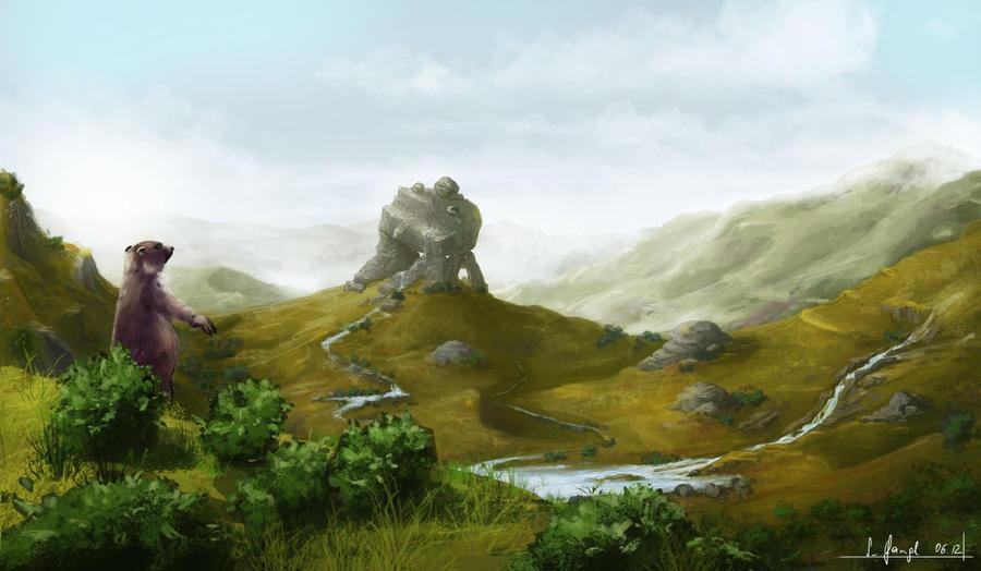 the graslands by SimonGangl