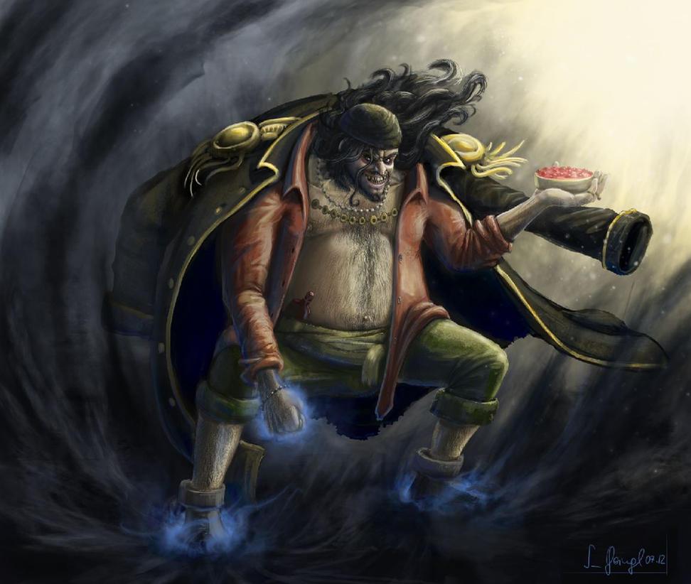 One Piece Art: Blackbeard By SimonGangl On DeviantArt