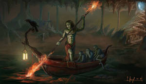 Charon the ferryman