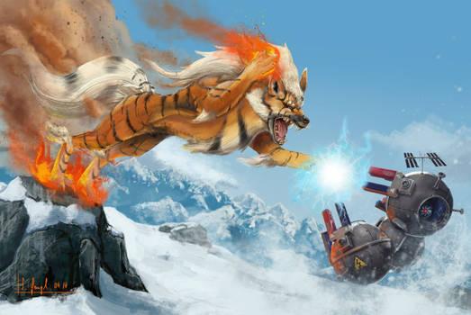 Magneton VS Arkani by SimonGangl