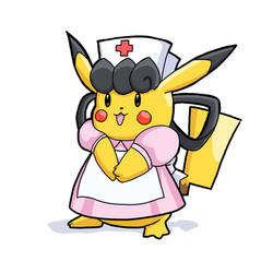 Pika Nurse [World of Pikachu]