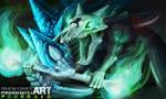 Sandslash VS Marowak - Pokemon Battle Art by SimonGangl