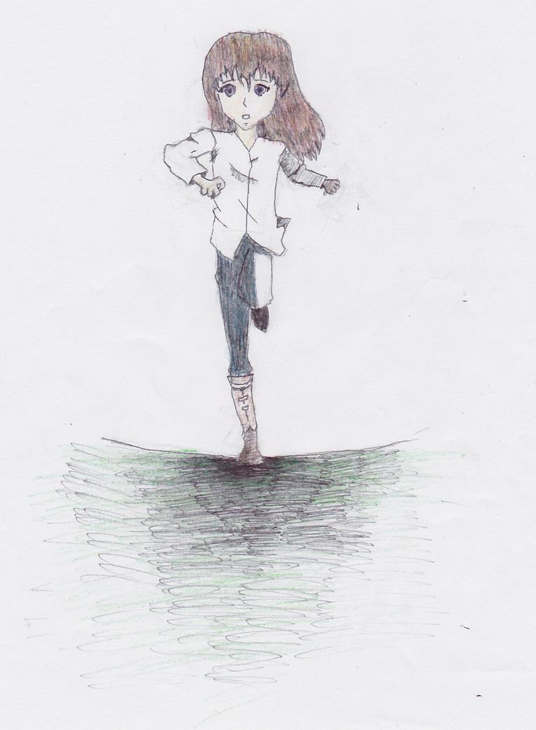 Anatomy Practice-Girl Running by alzanstar7x on DeviantArt