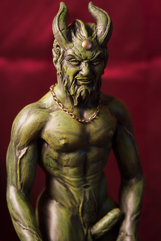 Meet pan - god of the forest and fields and patron of shepherds