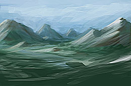 micro_mountains by Skyebrowz