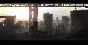 city by Skyebrowz