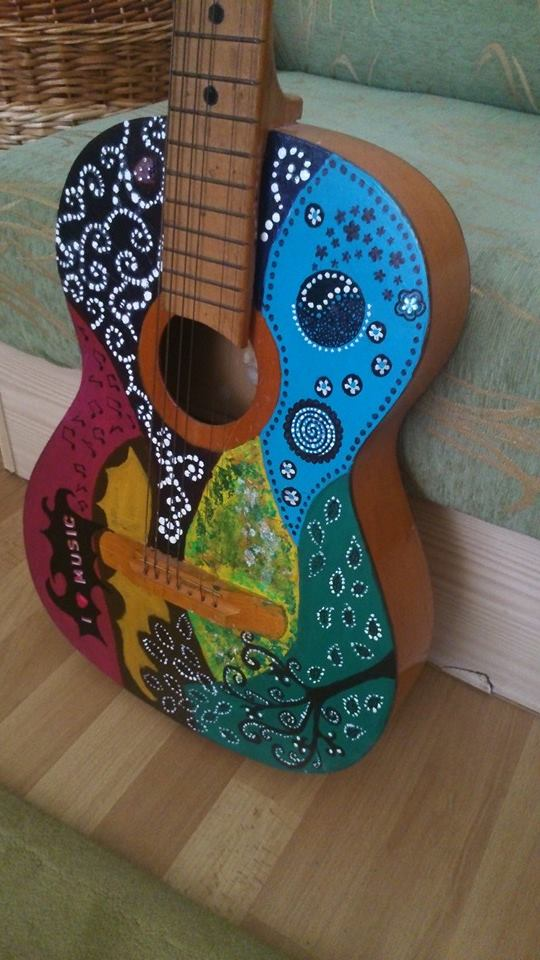 Abstract Guitar by siqna333