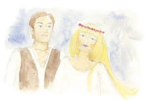 Rapunzel - the wedding