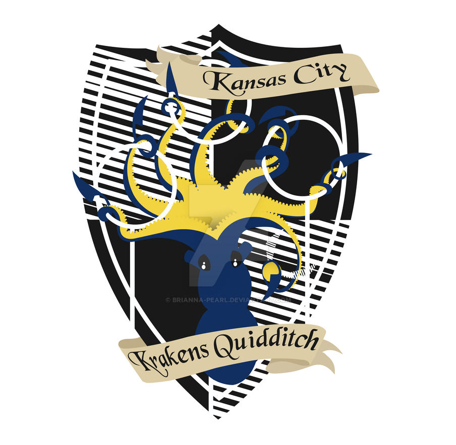 Kansas City Krakens Quidditch Coat Of Arms By Brianna