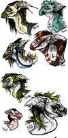 Kore Dragon heads