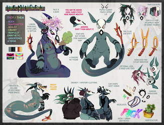 sona ref - Demiurge [form 1] by Zenophrenic