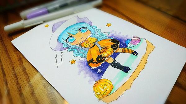 Happy Halloween by Mizuriia